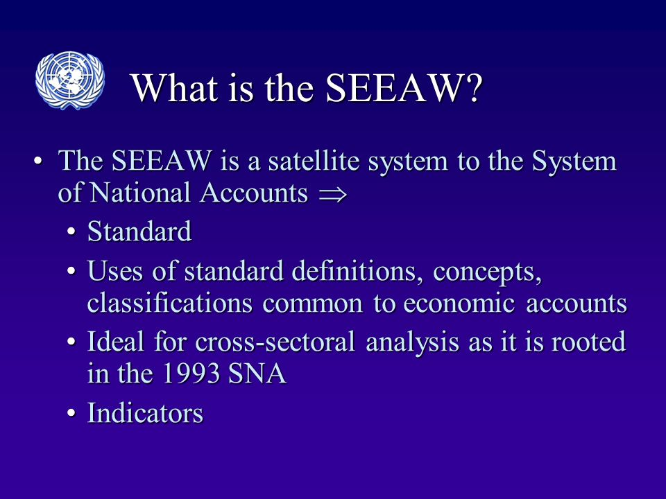 What is the SEEAW.