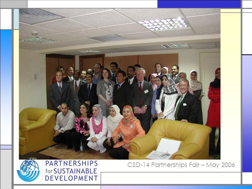 CSD-14 Partnerships Fair – May 2006
