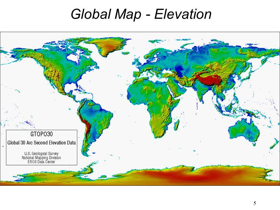 5 Global Map - Elevation