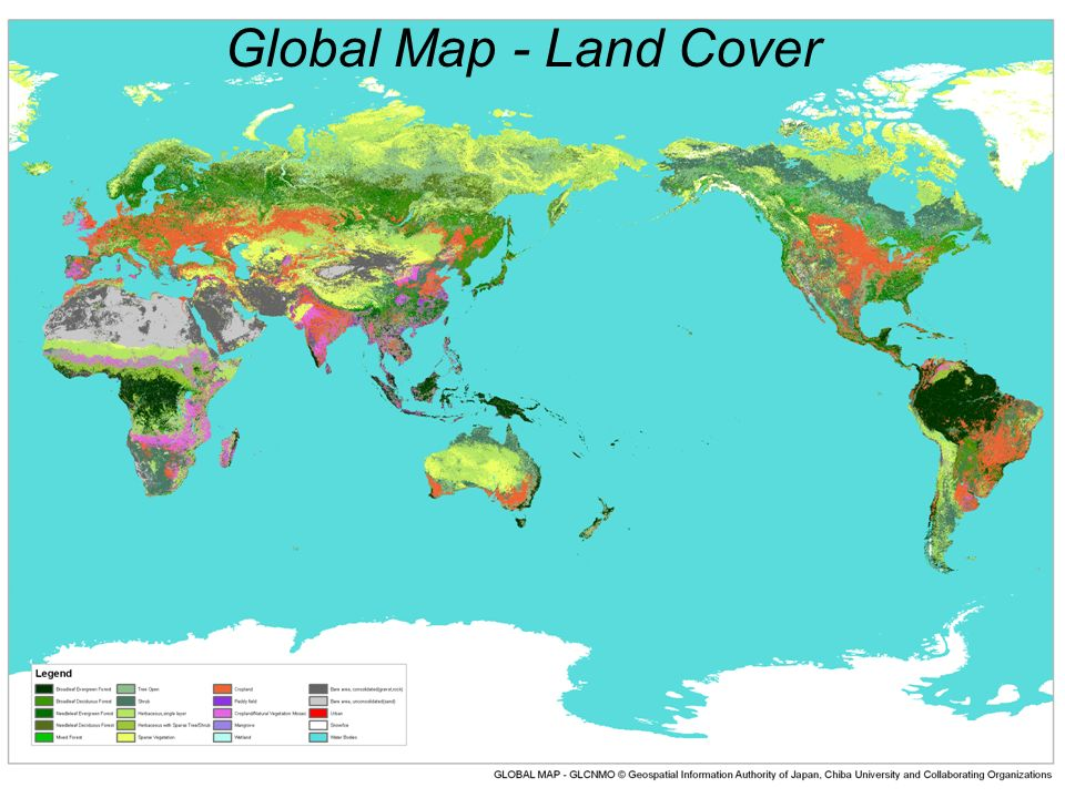 Global Map - Land Cover
