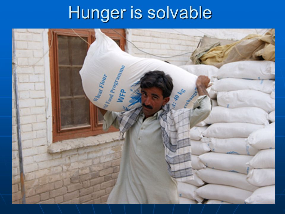 Hunger is solvable