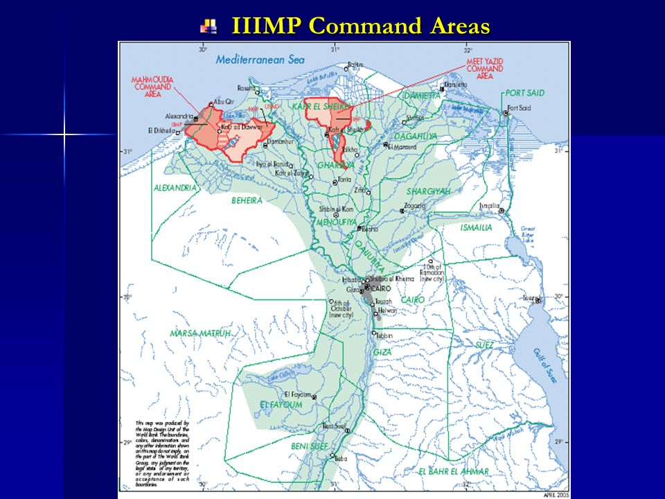 IIIMP Command Areas IIIMP Command Areas