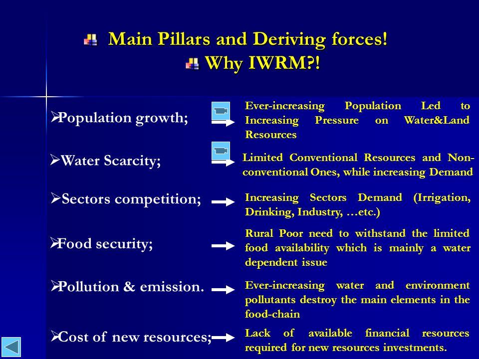 Main Pillars and Deriving forces. Main Pillars and Deriving forces.