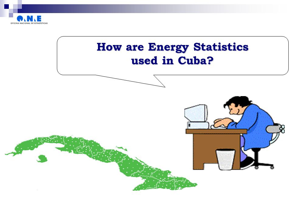How are Energy Statistics used in Cuba