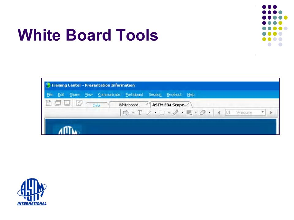 White Board Tools