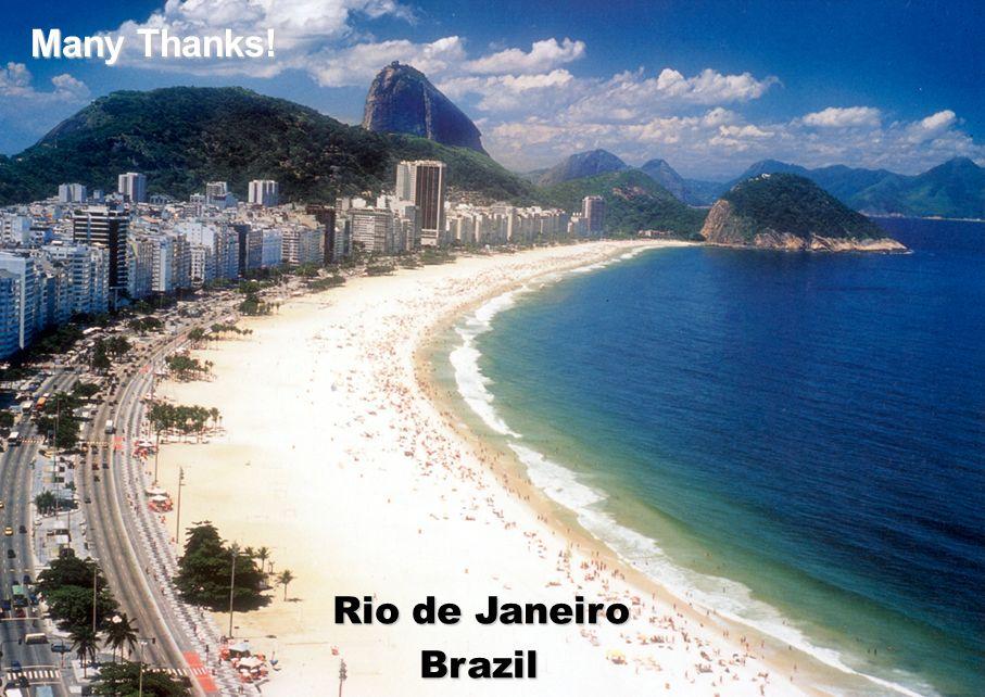Many Thanks! Rio de Janeiro Brazil Brazil