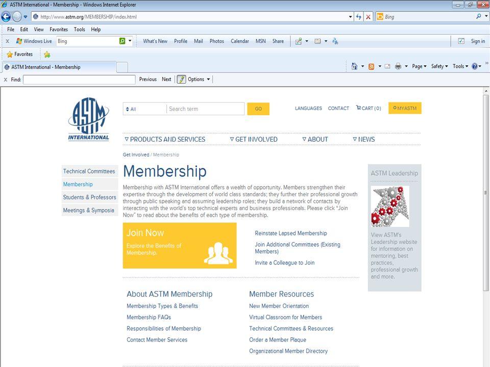 September 2013 ASTM Officers Training Workshop September 2013 ASTM Officers Training Workshop 25