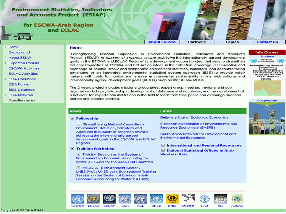 ESCWA-ESIA project 2008-2009 4