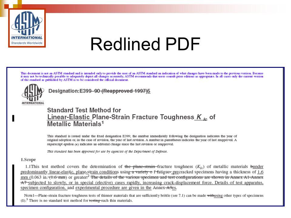 Redlined PDF
