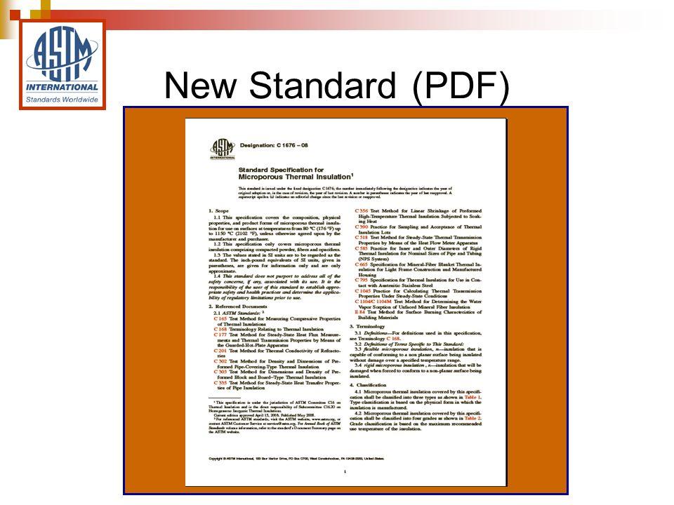 New Standard (PDF)