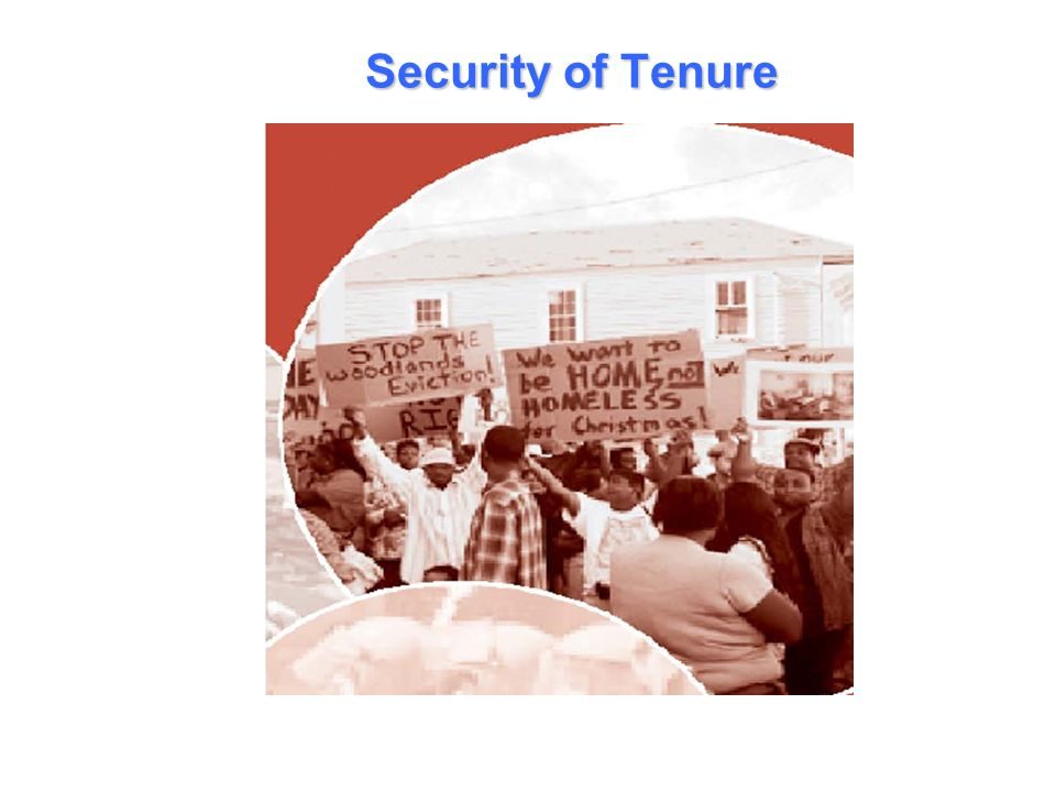 Security of Tenure