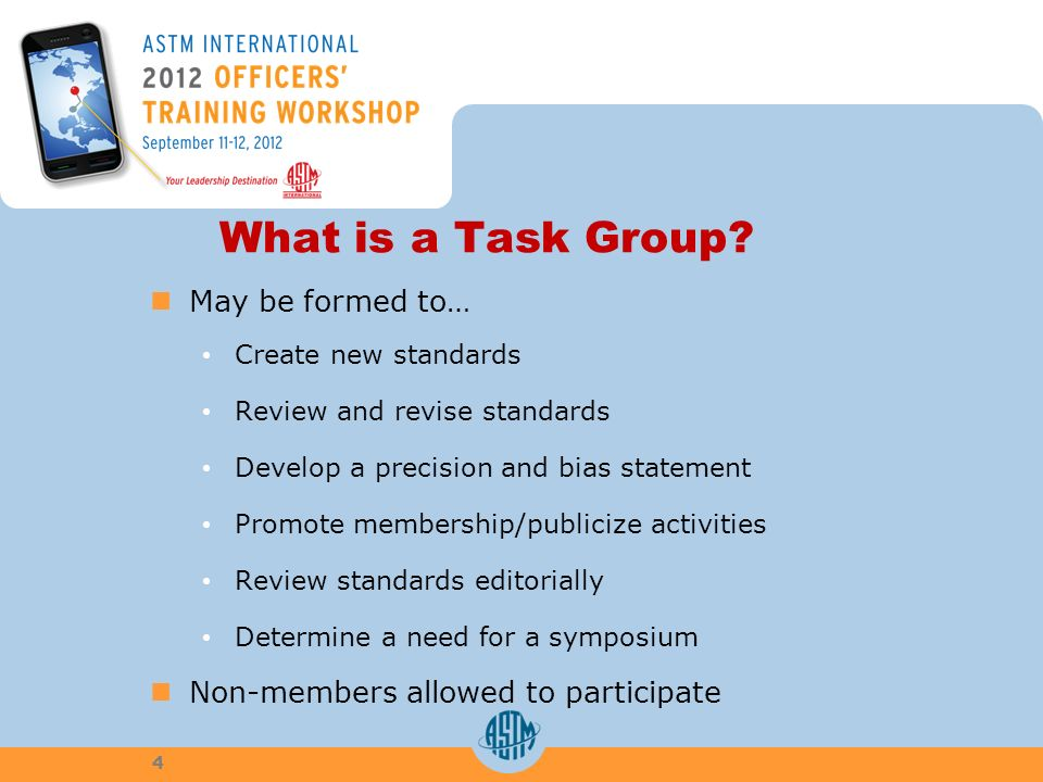 What is a Task Group.