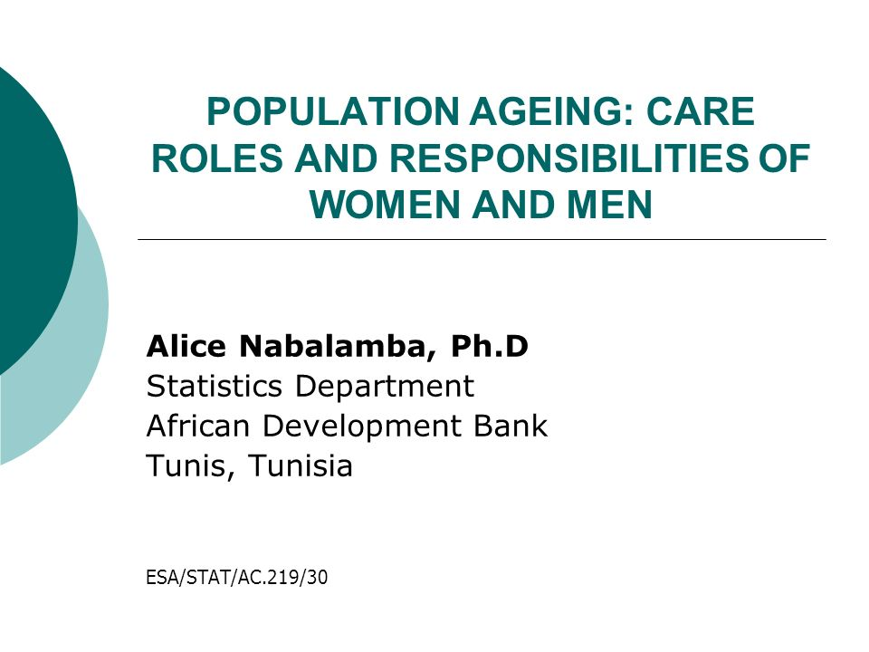 POPULATION AGEING Population ageing is described as the rise in the median age of a population resulting in a shift in the age structure of that population.