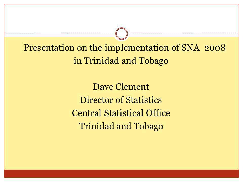 Short –Term Economic Statistics contd.