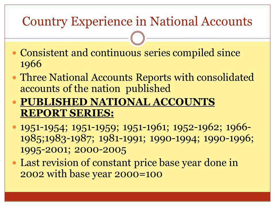 National Economic Accounts prepared in the Nat.Econ.