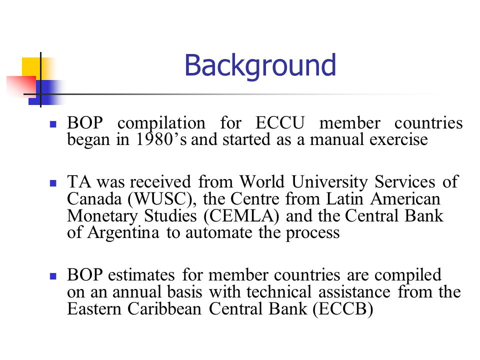 Links between BOP and NA Flows reflected in BOP affect in some ways the activities of the total economy Activities relating to production, generation and distribution of income, consumption and accumulation could be affected by BOP transactions