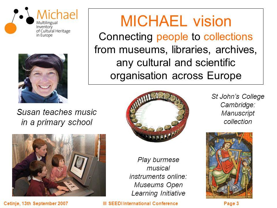Page 24III SEEDI International ConferenceCetinje, 13th September 2007