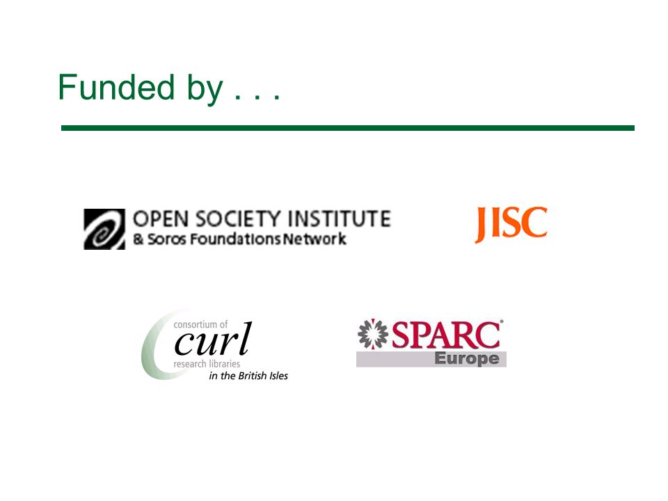 Funded by...