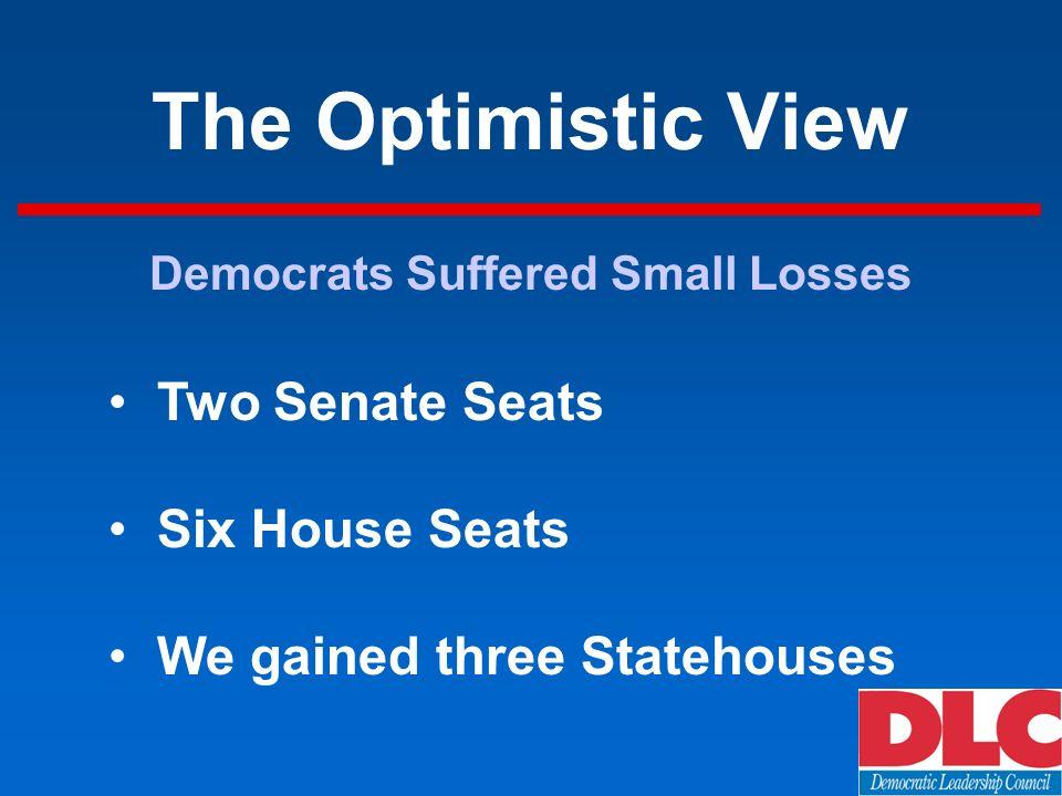 The Pessimistic View Republicans Control Political Landscape 1992 2002 White House D R U.