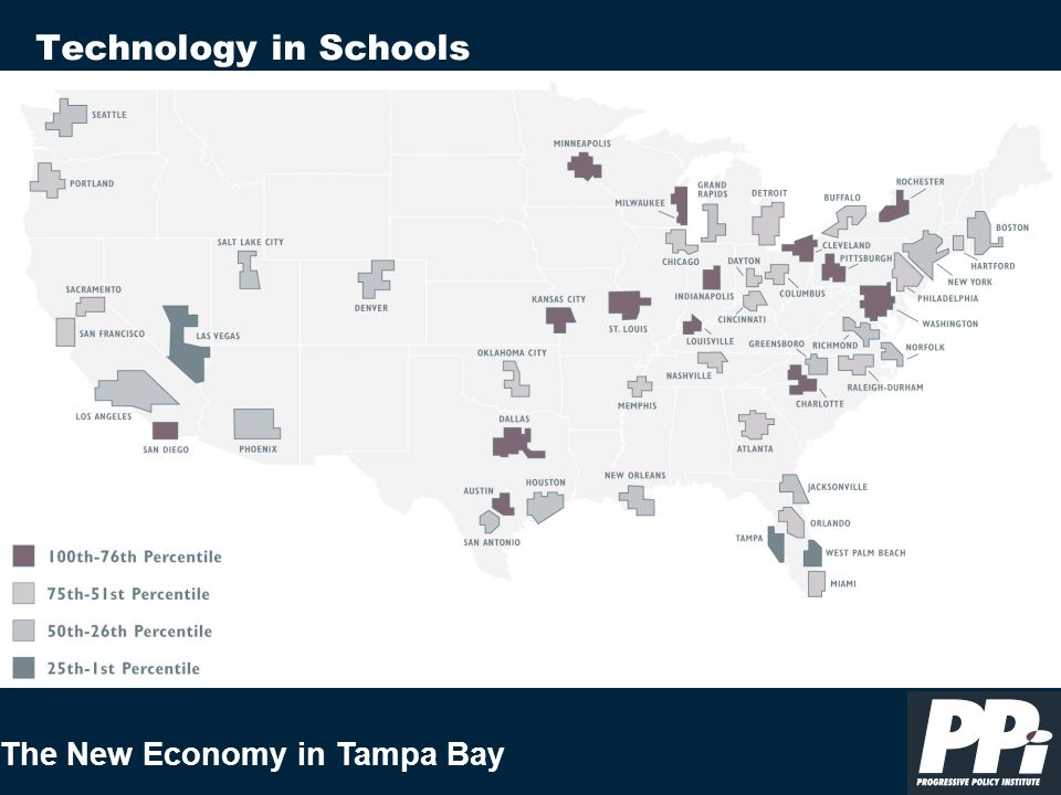 The New Economy in Tampa Bay Technology in Schools