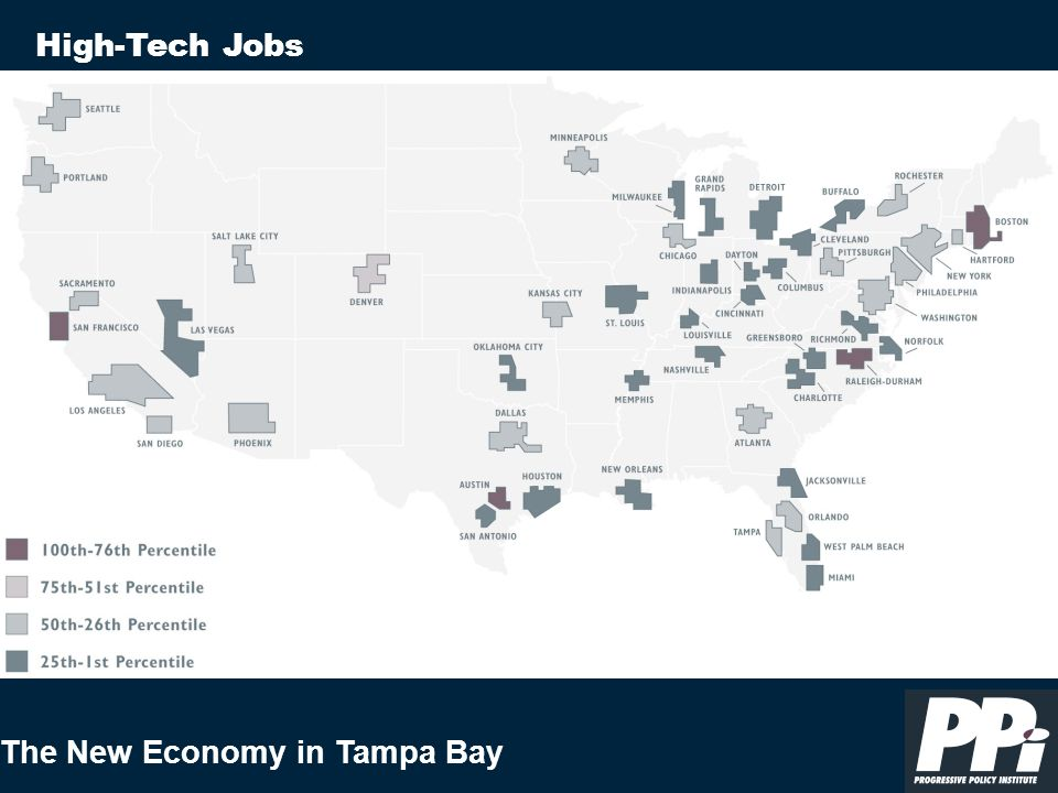 The New Economy in Tampa Bay High-Tech Jobs