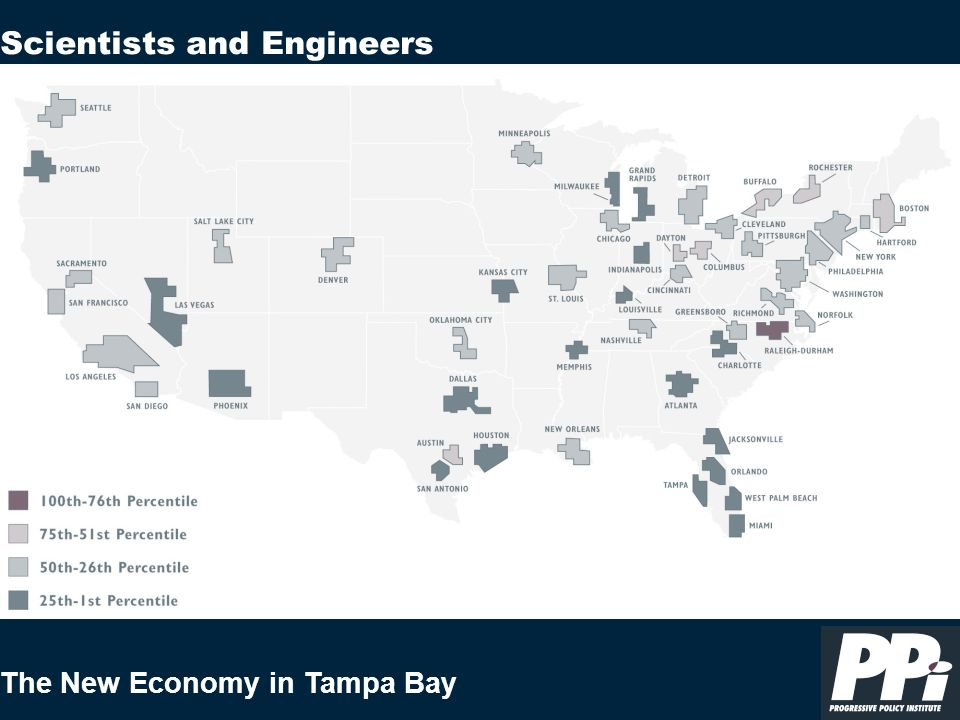 The New Economy in Tampa Bay Scientists and Engineers