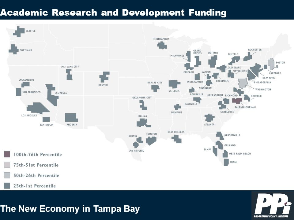 The New Economy in Tampa Bay Academic Research and Development Funding