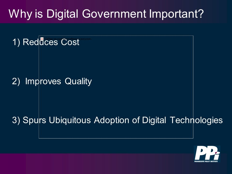 Why is Digital Government Important.