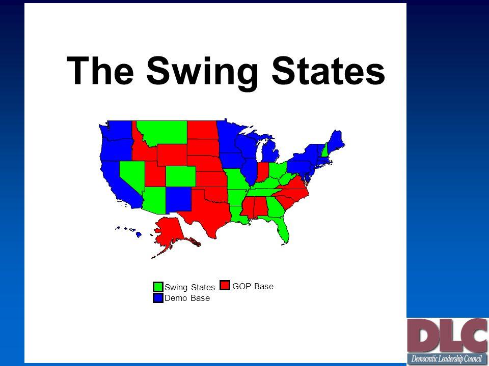 Swing States GOP Base Demo Base The Swing States