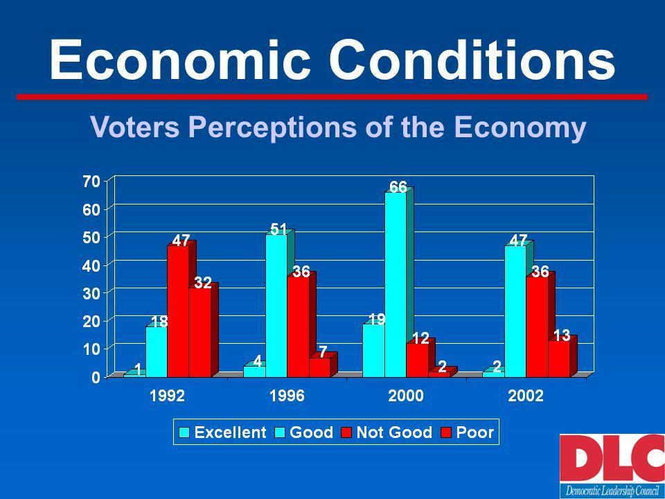 Economic Conditions Voters Perceptions of the Economy
