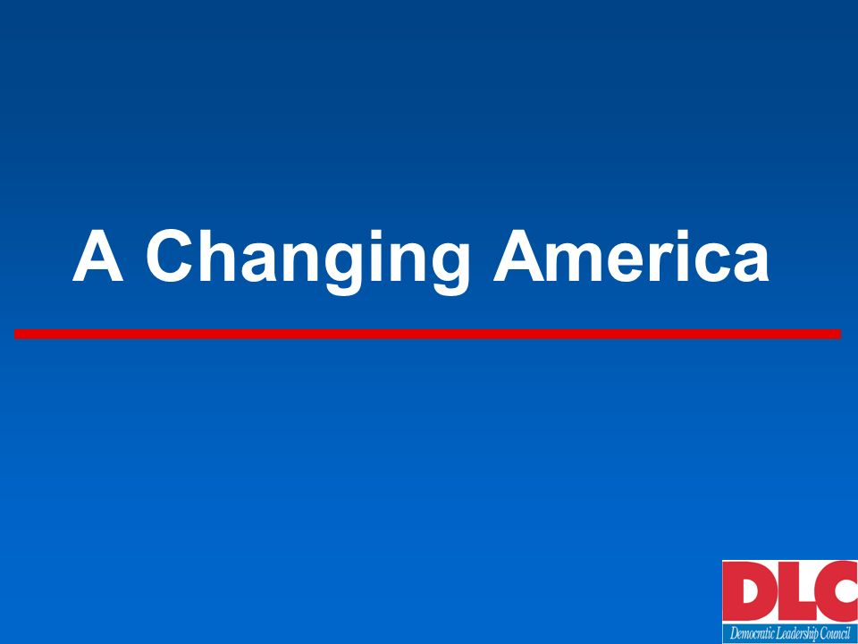 A Changing America
