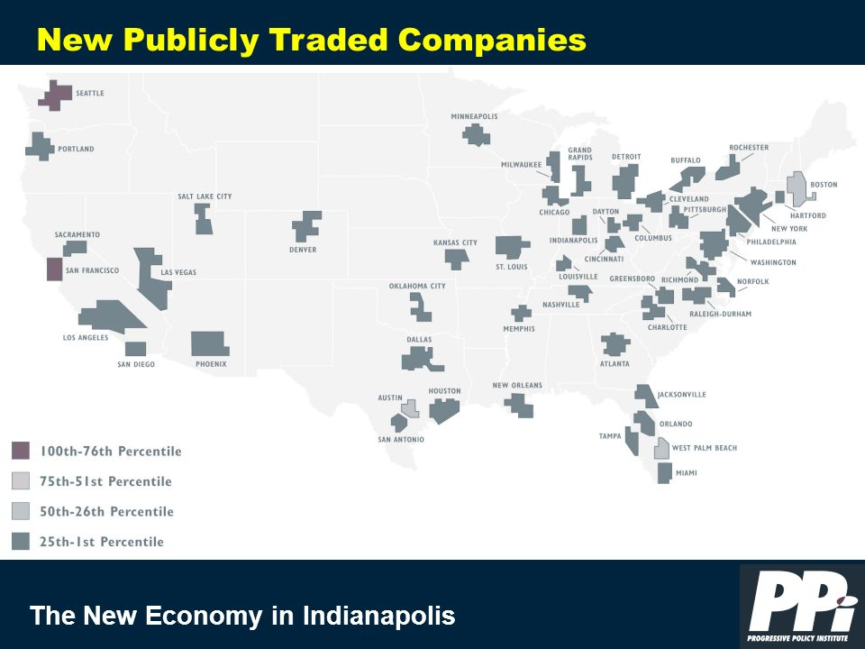 The New Economy in Indianapolis New Publicly Traded Companies