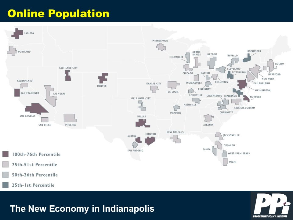 The New Economy in Indianapolis Online Population