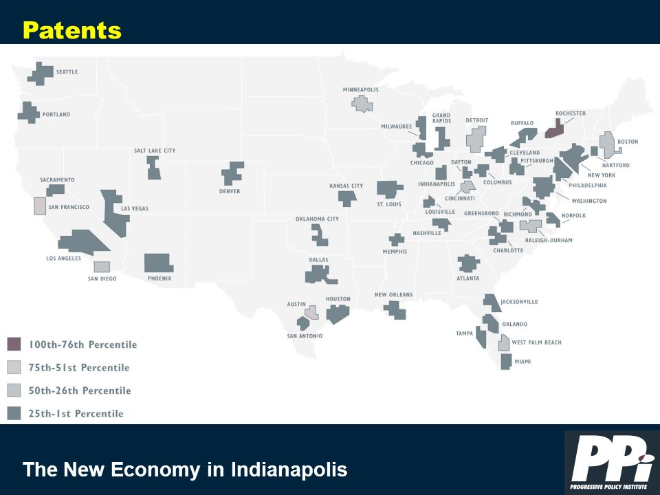 The New Economy in Indianapolis Patents