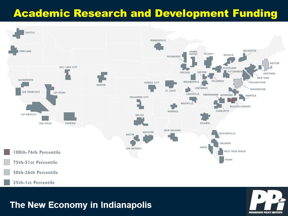 The New Economy in Indianapolis Academic Research and Development Funding