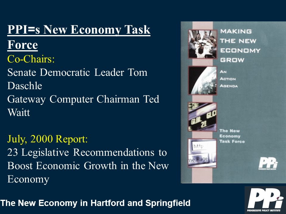 The New Economy in Hartford and Springfield Workforce Education