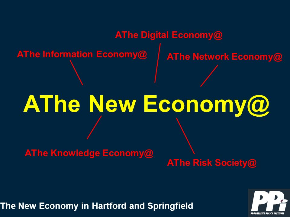 The New Economy in Hartford and Springfield < Reinvent and Digitize Government What to Do (6): Foster New Economy Governance < Establish Public-Private Councils (e.g., Joint Venture Silicon Valley) < Think and Act Like A Region, including fostering Metropolitan- Wide Governance, and Developing Regional Economic Development Strategies