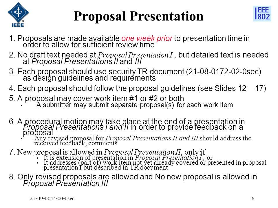 Proposal Presentation 1.