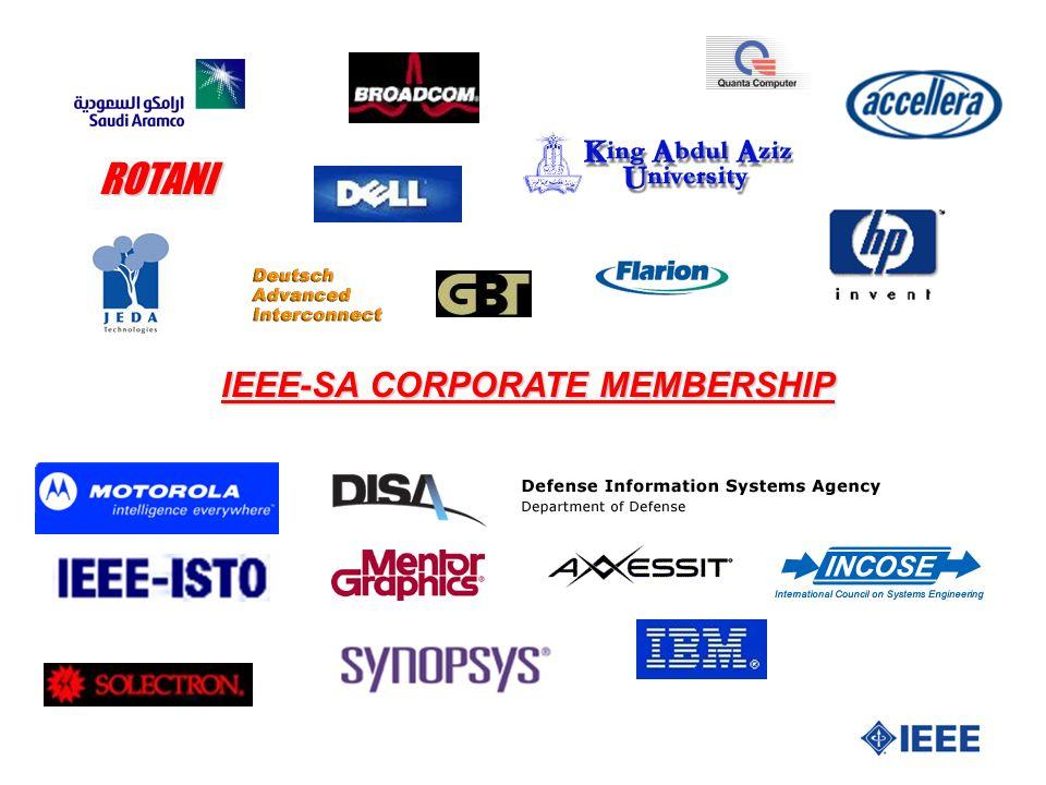 ROTANI IEEE-SA CORPORATE MEMBERSHIP