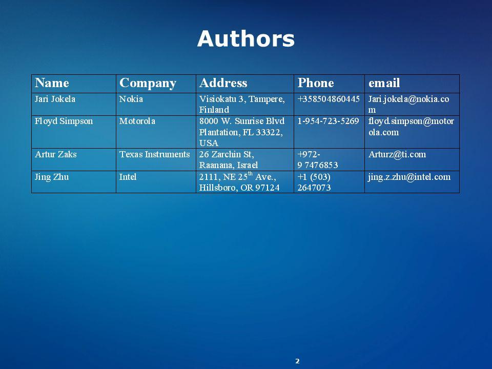 2 Authors