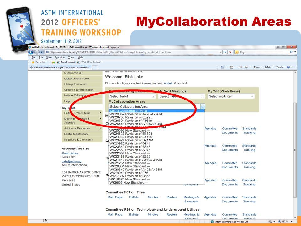 MyCollaboration Areas 16