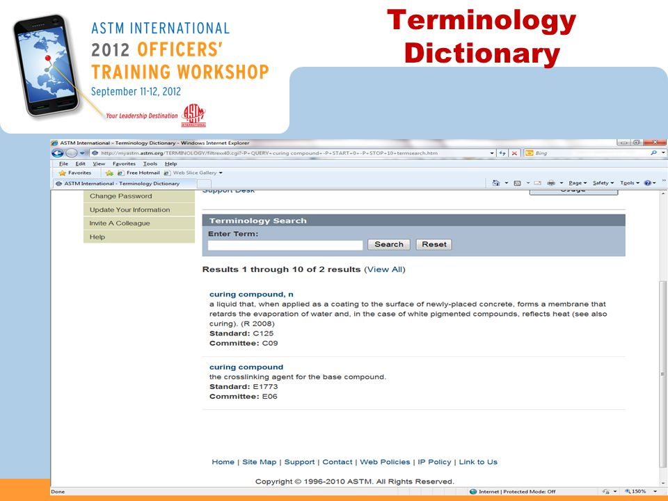 Terminology Dictionary 37
