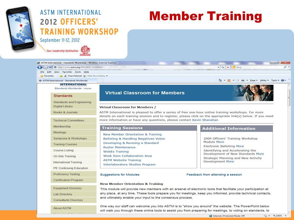 Member Training 39