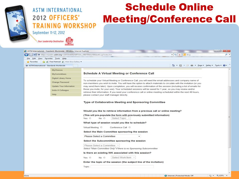 Schedule Online Meeting/Conference Call 40