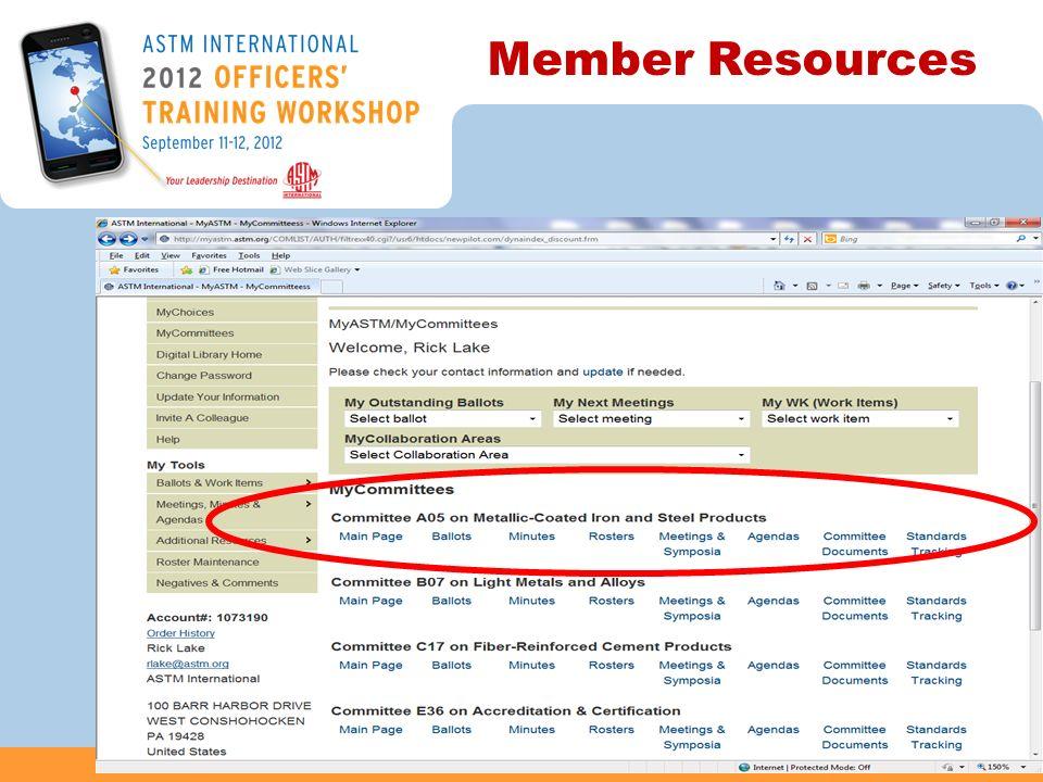 Member Resources 48