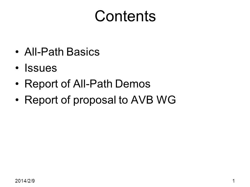 All-Path Bridging Update IEEE Plenary meeting Atlanta 7-10 Nov.