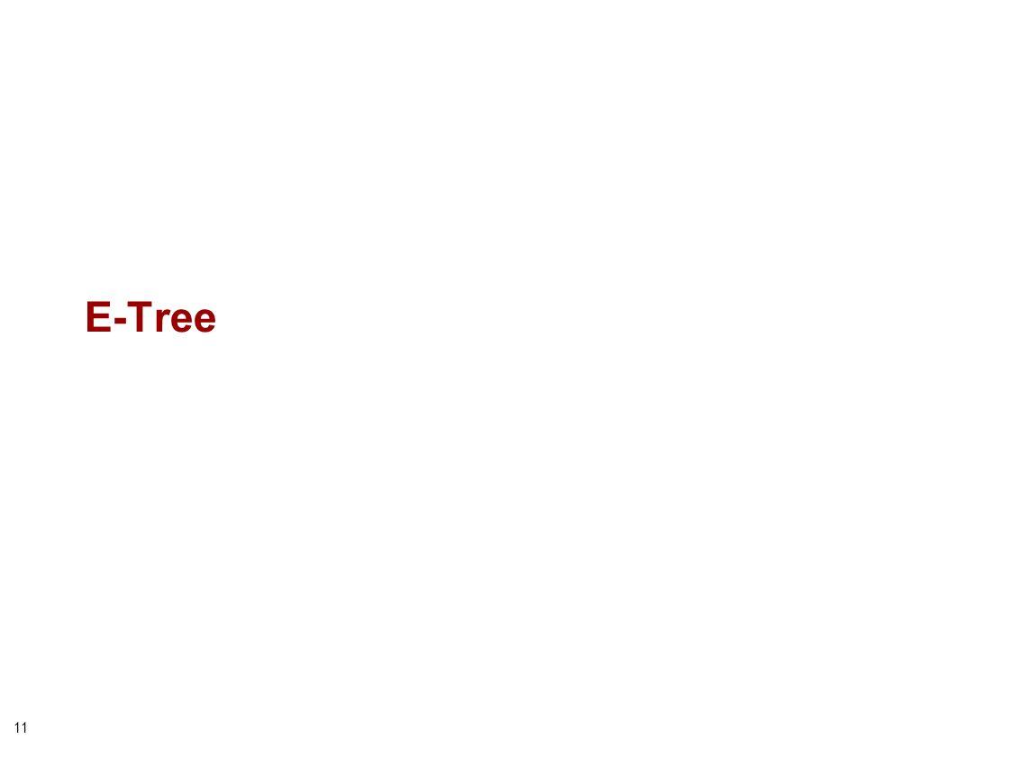 11 E-Tree