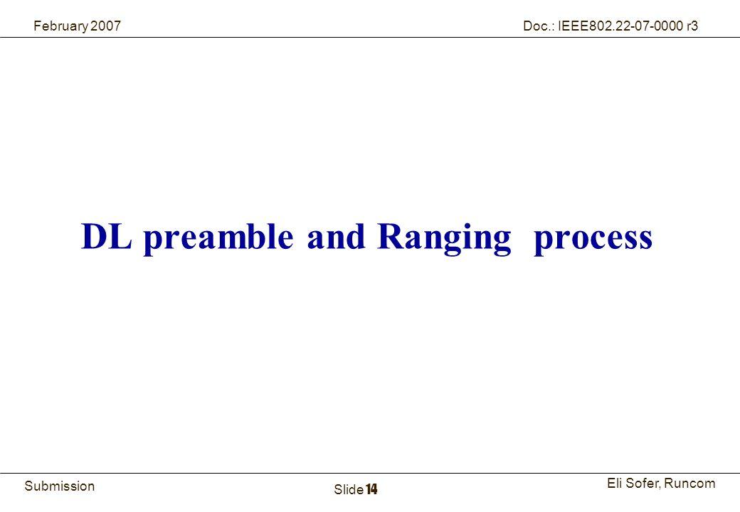 14Runcom Technologies Ltd.