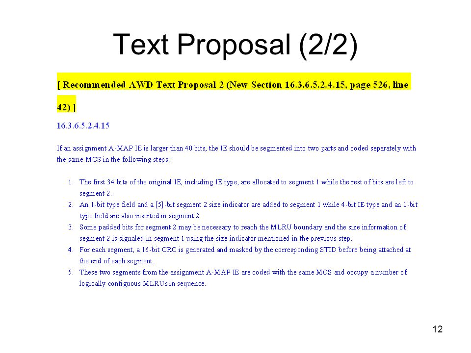 12 Text Proposal (2/2)