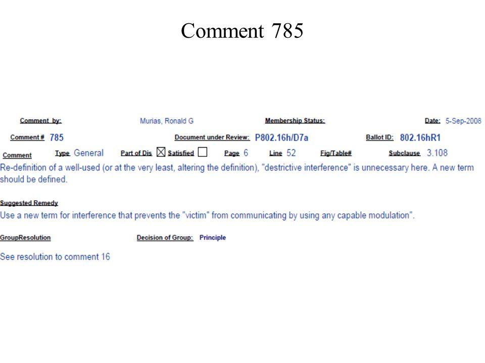 Comment 785